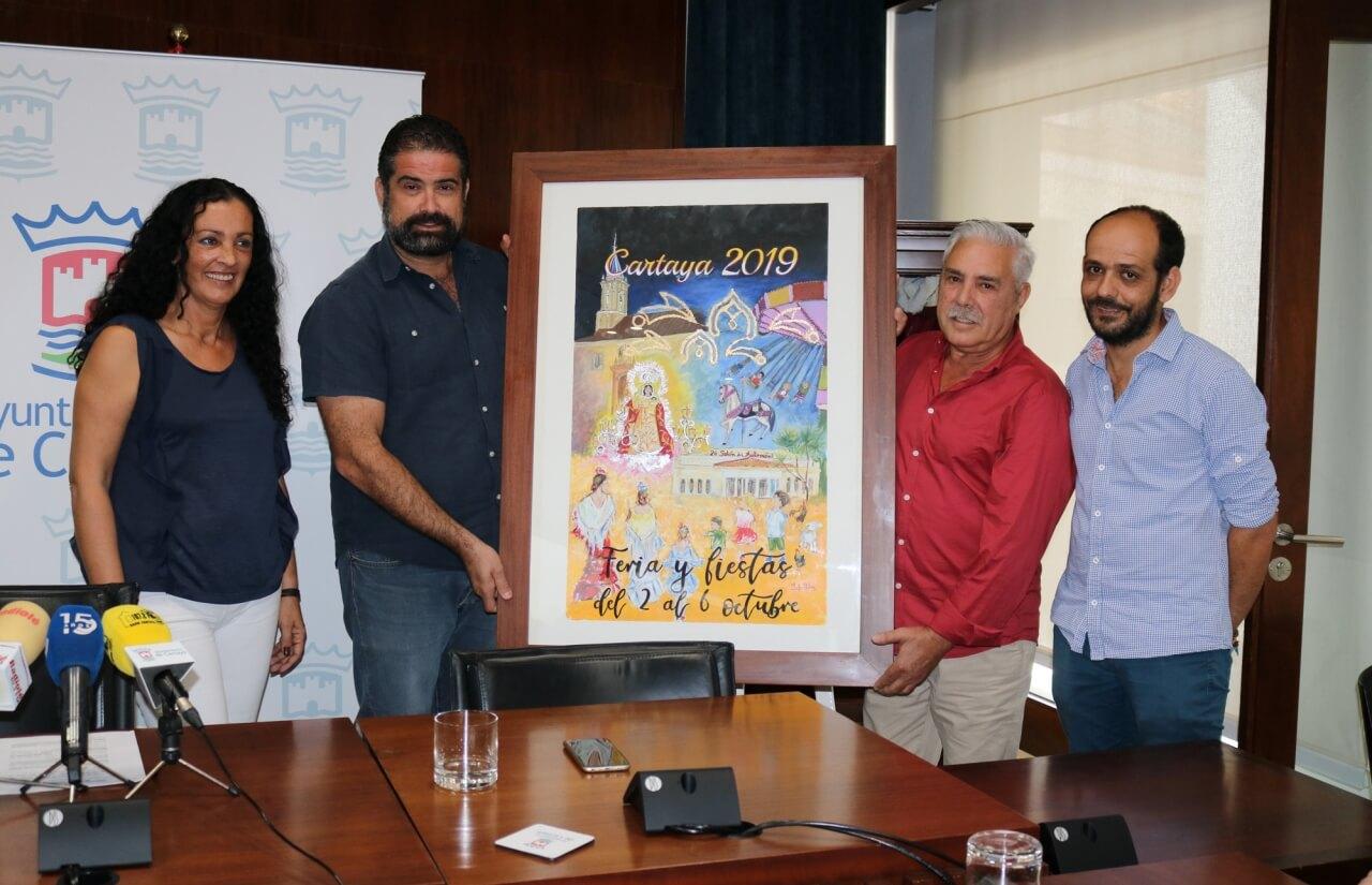 Especial Feria de Cartaya, cartelista Rafael Mateos