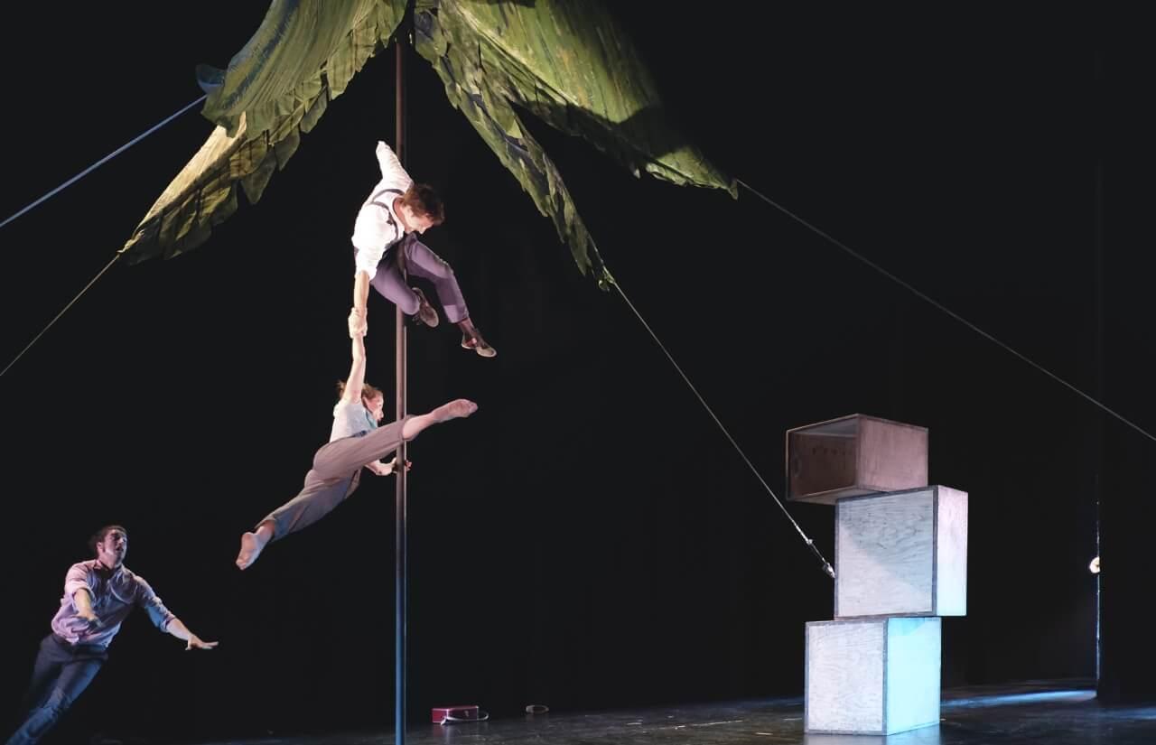 Circo, danza y teatro este fin de semana en Cartaya
