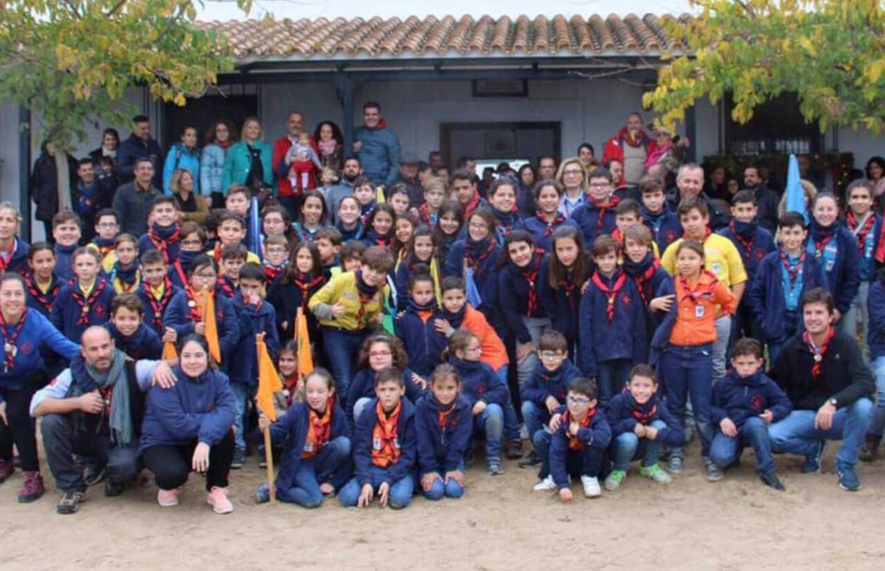 El Grupo Scout Esury se establece definitivamente en los Salones Parroquiales de Sor Ángela de la Cruz