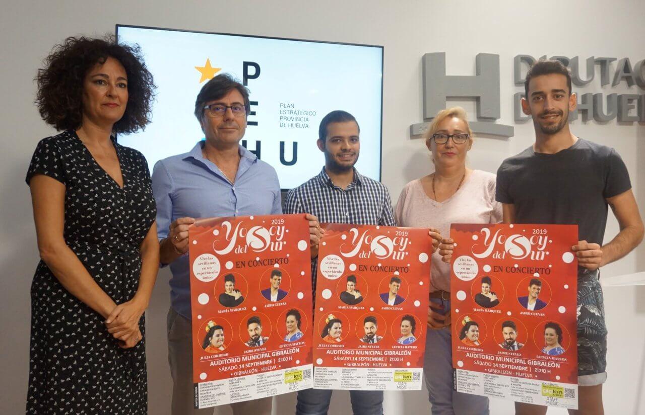 Concierto de los ganadores del concurso «Yo soy del Sur» en Gibraleón