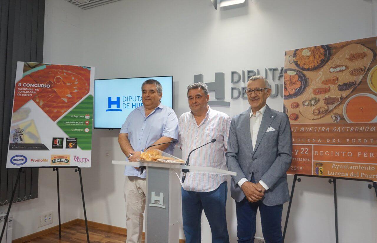 XII Muestra Gastronómica y II Concurso Nacional de Cortadores de Jamón de Lucena del Puerto
