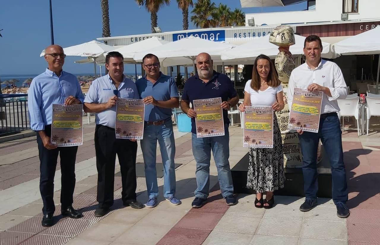Ayuntamiento y empresarios hosteleros promueven la fiesta de despedida de la temporada estival «Ciao!! Verano» que se celebra el sábado 14 de septiembre en La Antilla