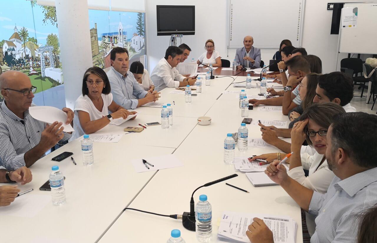 Celebrada la sesión plenaria correspondiente al mes de septiembre en Lepe
