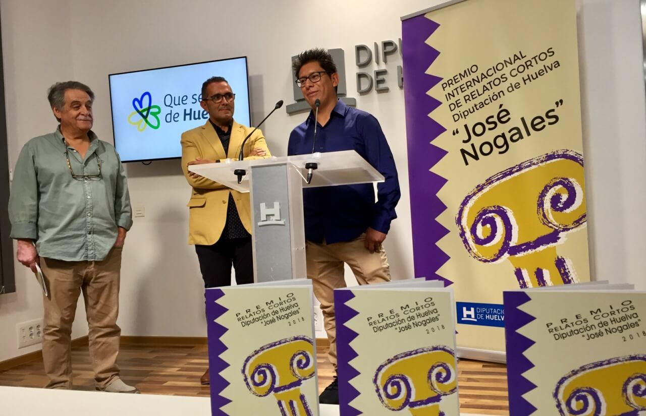 El boliviano Rodrigo Urquiola recoge el Premio José Nogales en su 25 edición por su obra 'Ashley'