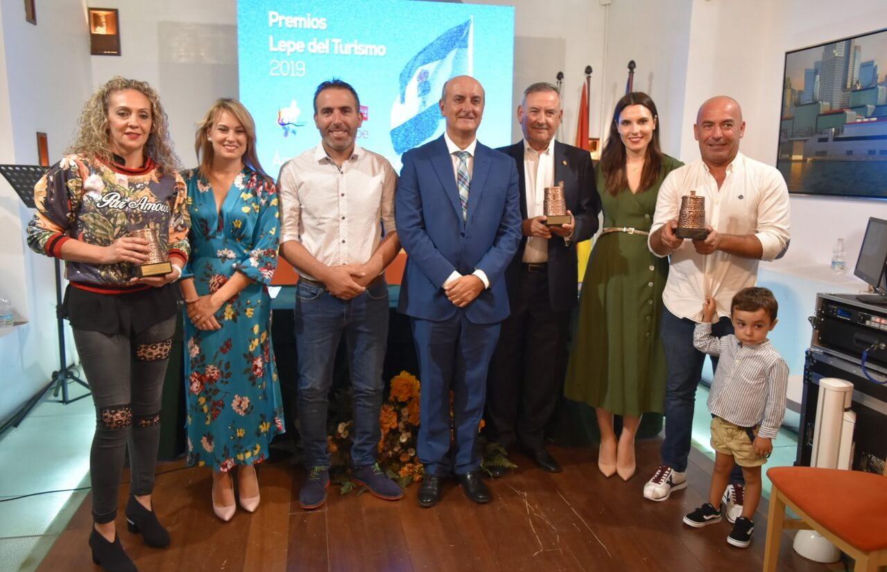 El Ayuntamiento de Lepe entrega los premios «Lepe del Turismo» 2019