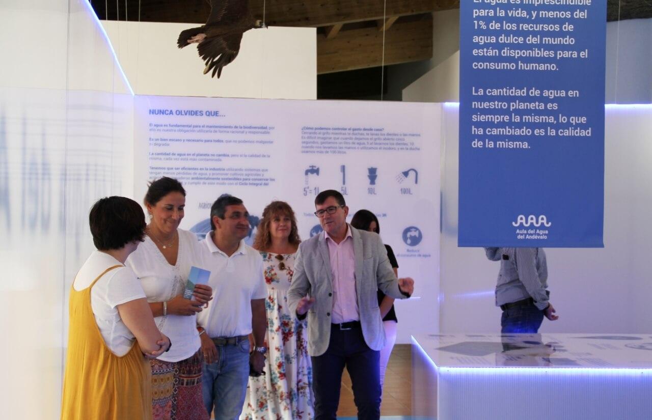 El Aula de la Naturaleza de Puebla de Guzmán estrena equipamiento financiado por el proyecto Valagua de Diputación