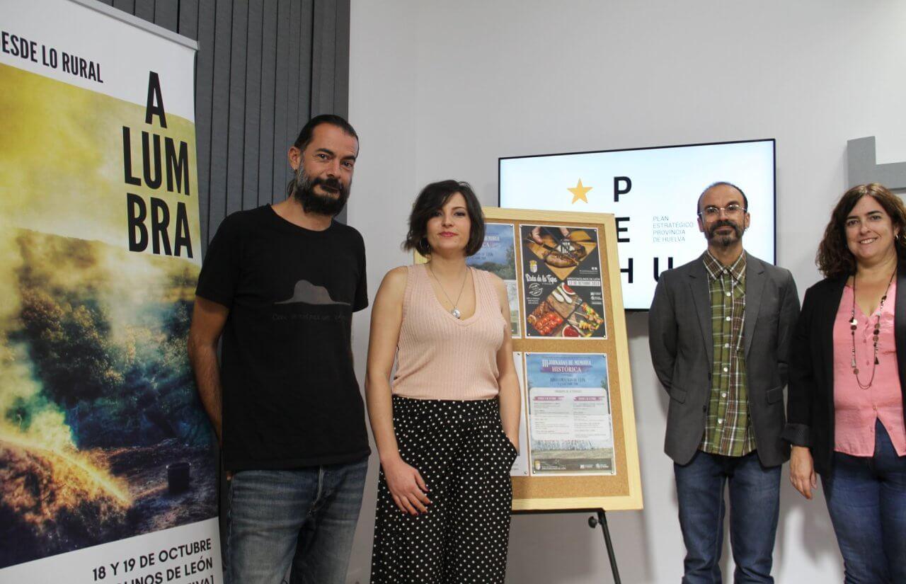 Energía y medio ambiente, memória histórica y turismo gastronómico, actividades de octubre en Arroyomolinos de León