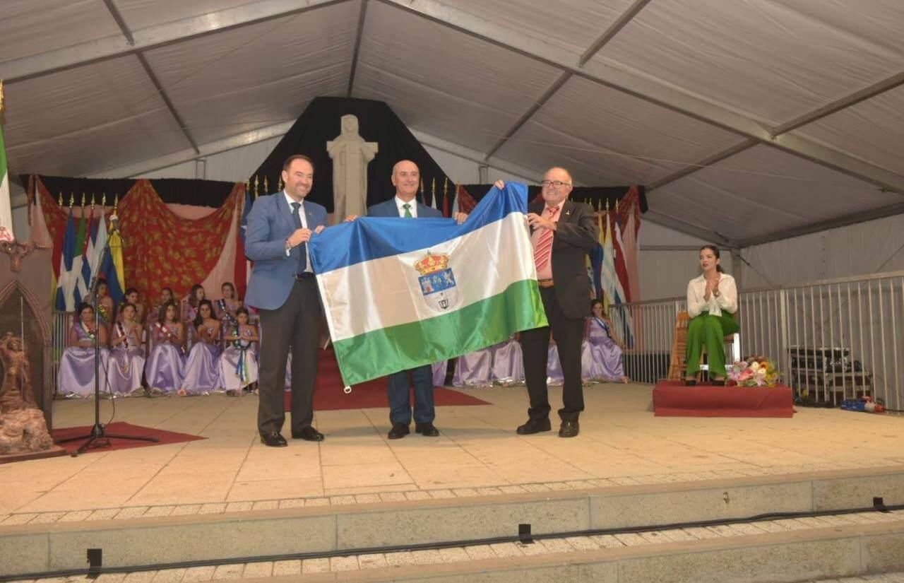 Lepe ha sido homenajeada durante las tradicionales Fiestas de la Hispanidad de Huelva