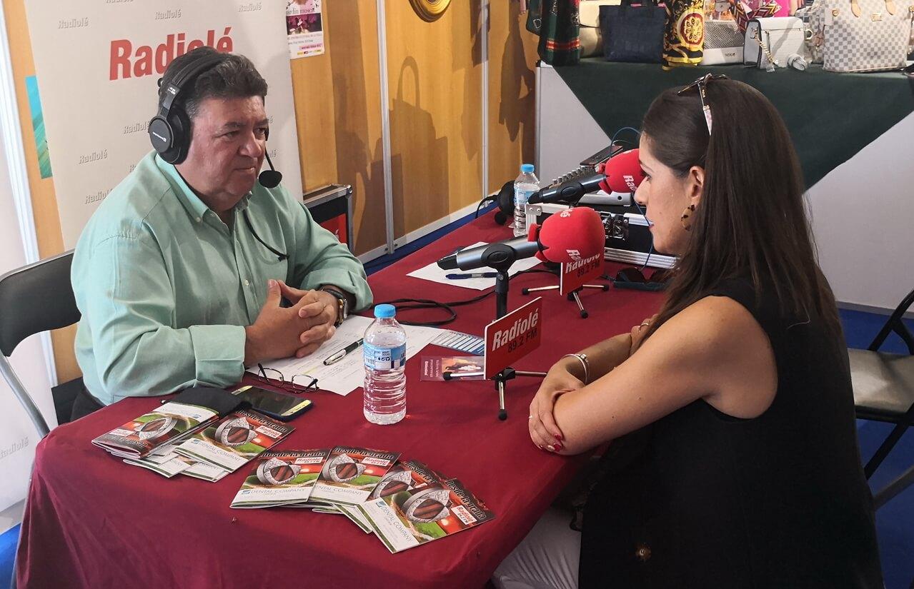 Radiolé les lleva la Feria de Cartaya
