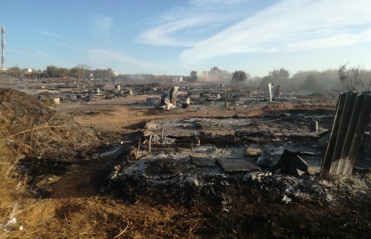 Segundo incendio en 24 horas en el asentamiento chabolista del cementerio