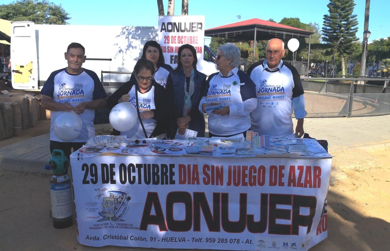 El Ayuntamiento de Lepe colabora con Aonujer en la difusión de las actividades organizadas con motivo del Día Sin Juegos de Azar