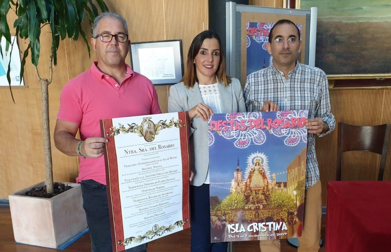 Isla Cristina se prepara para las Fiestas Patronales en Honor a la Virgen del Rosario