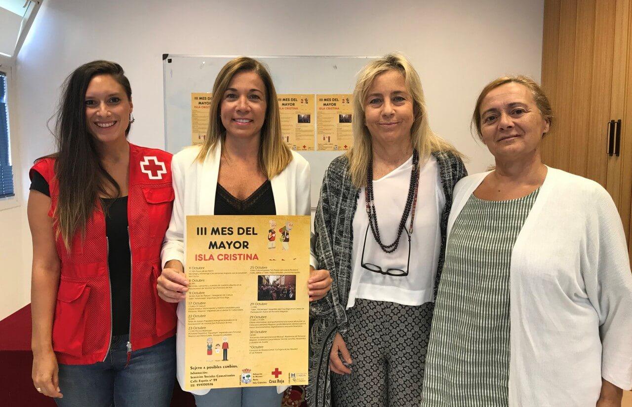 Isla Cristina dedica el mes de octubre a los mayores