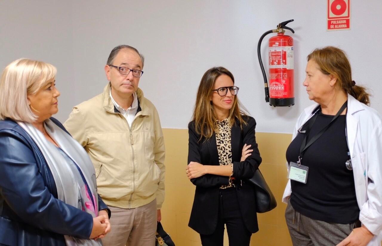 La Delegada de Salud niega que se haya eliminado la Unidad Delta en Ayamonte