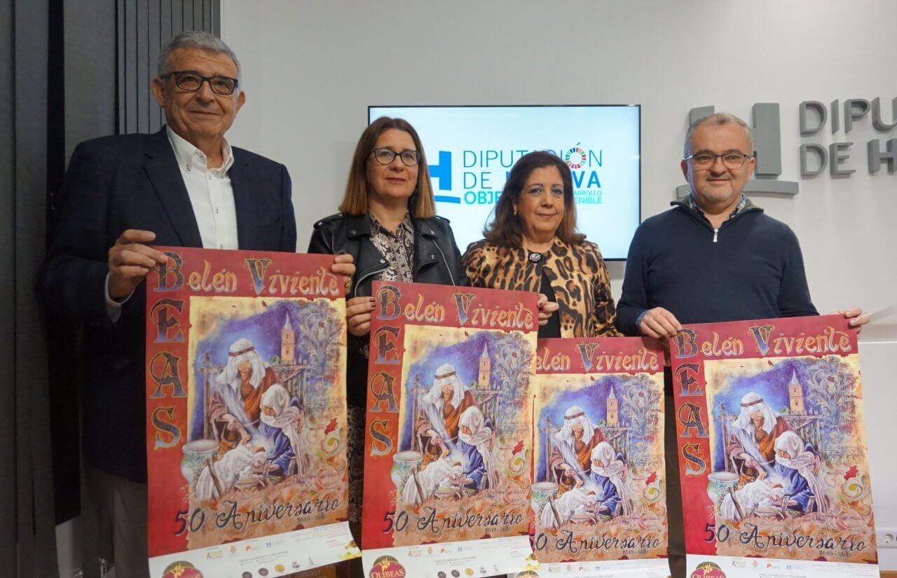 Beas vive la Navidad con la presentación de la 50 Edición de su Belén Viviente