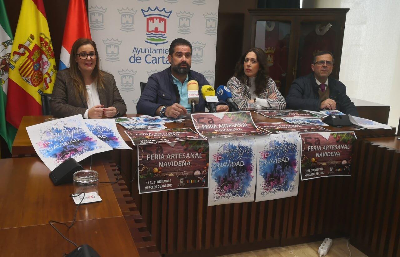 Cerca de 40 actividades en la campaña navideña del Ayuntamiento y los comerciantes en Cartaya