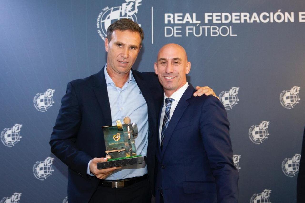 El lepero Luciano Martín «Luci», premio Ramón Cobo de la RFEF