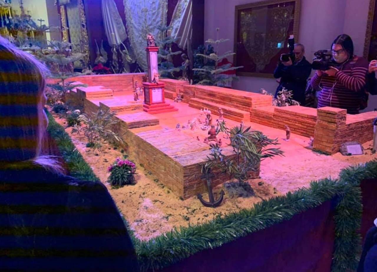 Inauguración del Nacimiento de la Hermandad de Ntra. Sra. Bella