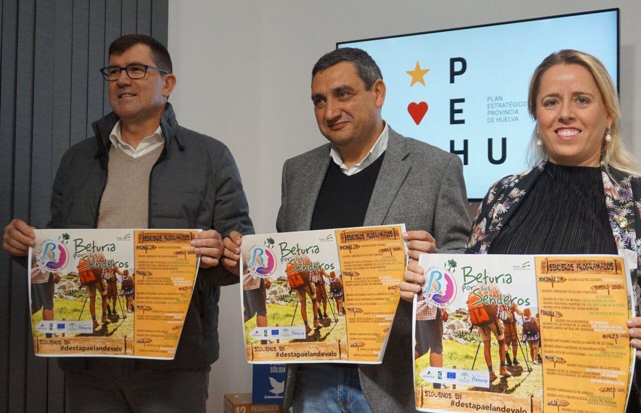 «Beturia por sus Senderos» a través de 7 rutas tematizadas para descubrir el Andévalo