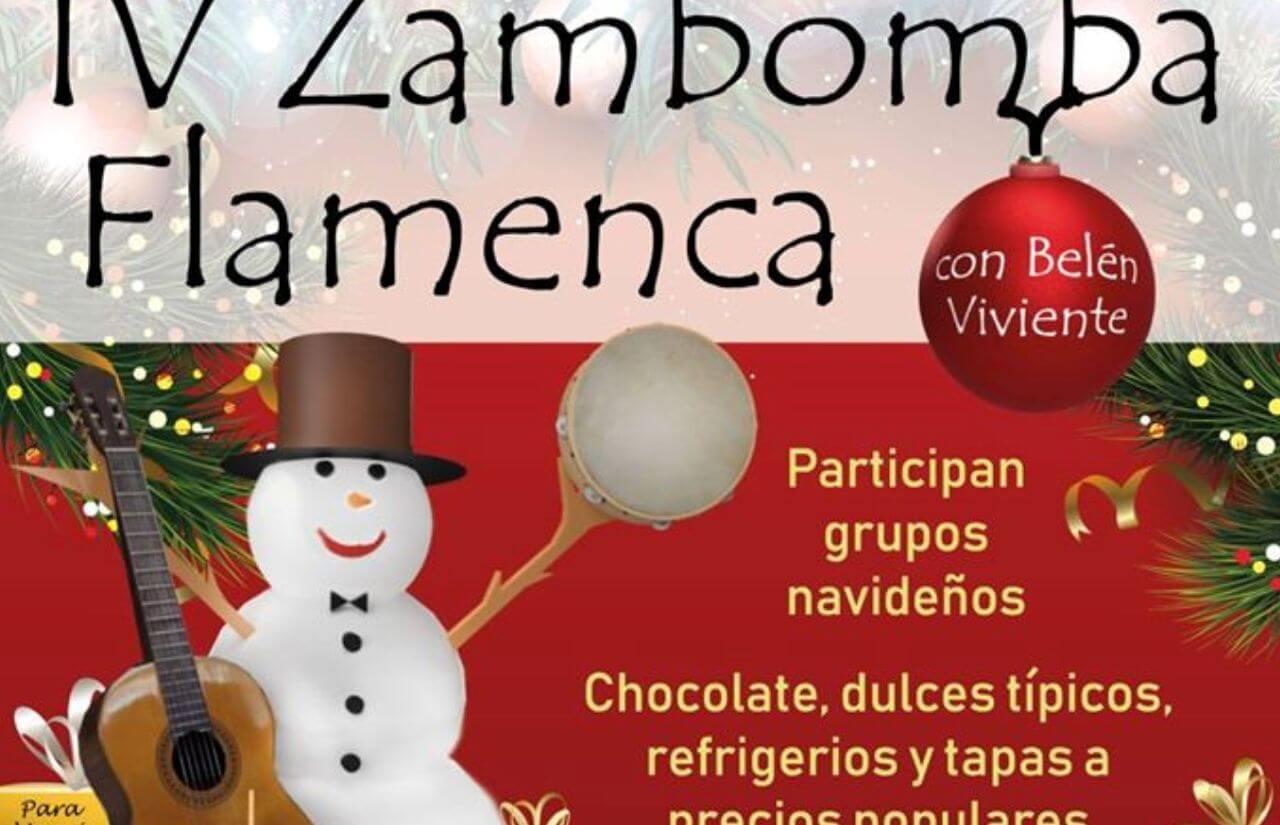 IV Zambomba Flamenca Parroquia San Sebastián en Villablanca