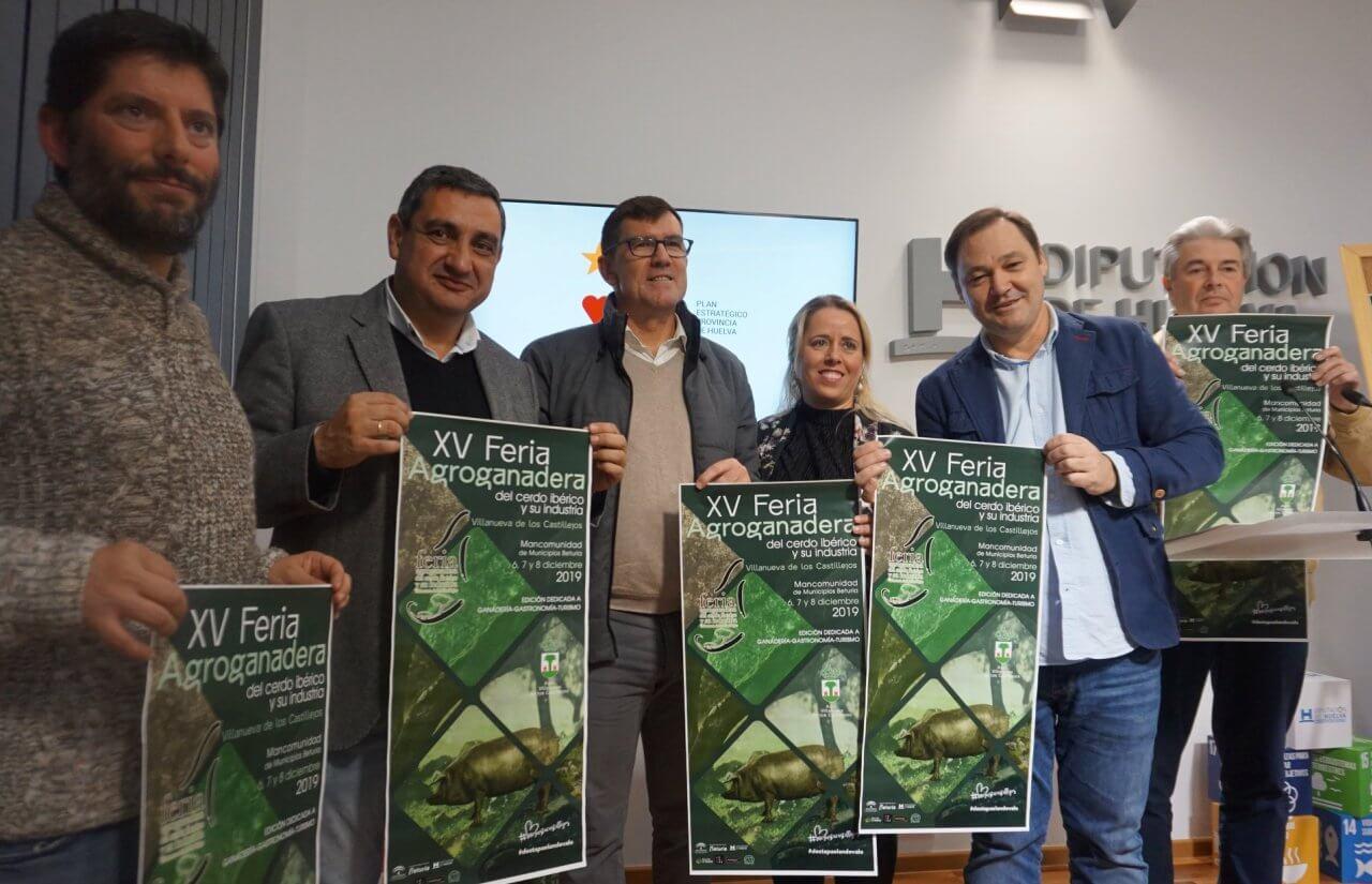 XV Feria Agroganadera del Cerdo Ibérico y su Industria de Villanueva de los Castillejos