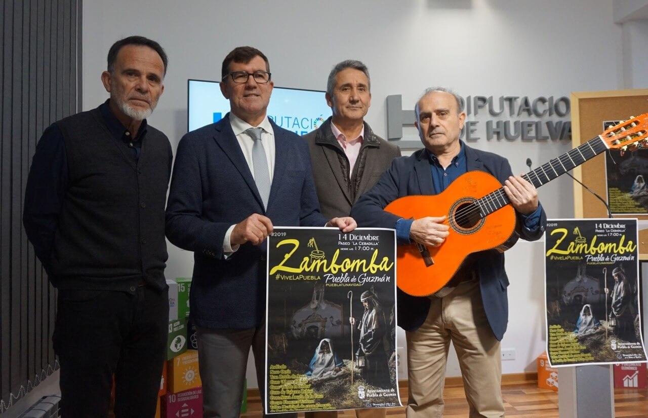 Zambomba Flamenca de Puebla de Guzmán 2019