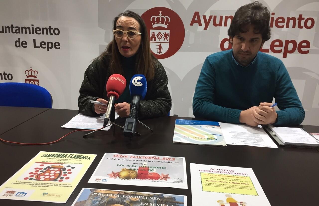 El Centro Municipal de Mayores Santa María de la Bella presenta su programación navideña