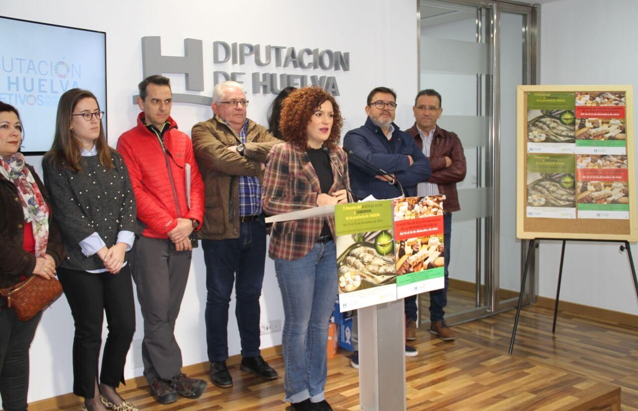Las muestras de dulces, aceites y conservas volverán a inundar de sabor navideño los soportales de la Diputación