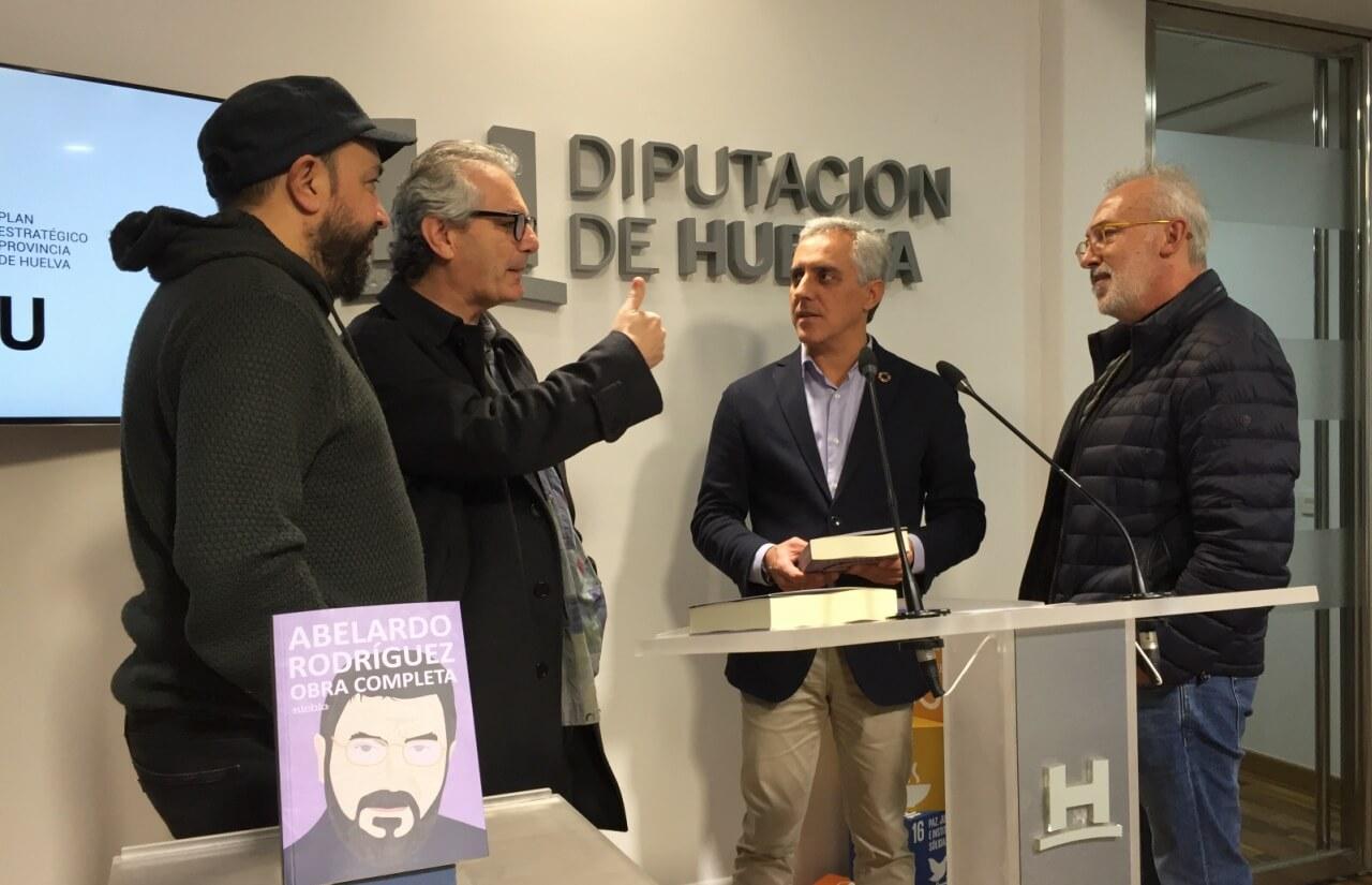 La 'Obra Completa' de Abelardo Rodríguez ve la luz gracias a una cuidada coedición de la Diputación y la editorial Niebla