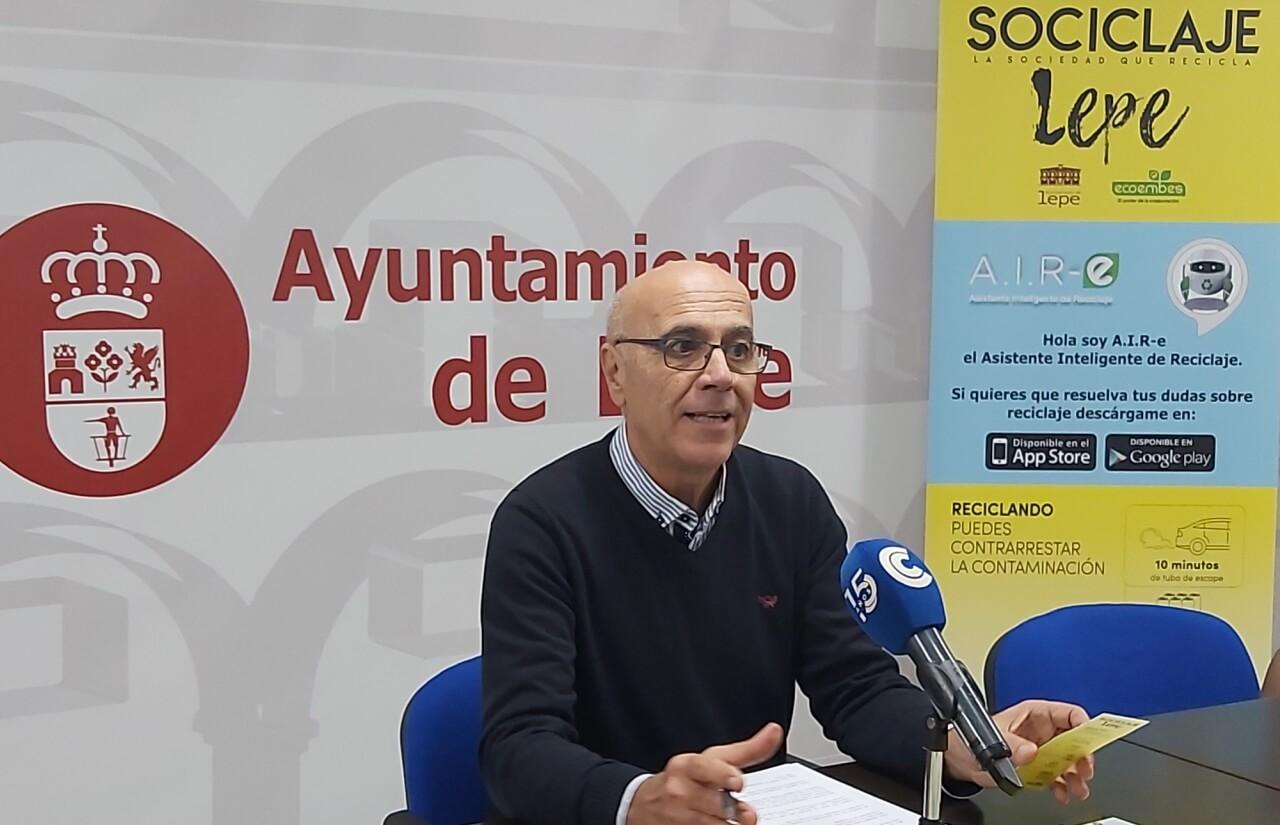 Ayuntamiento de Lepe y Ecoembes colaboran para poner en marcha la campaña «Sociclaje, la sociedad que recicla»