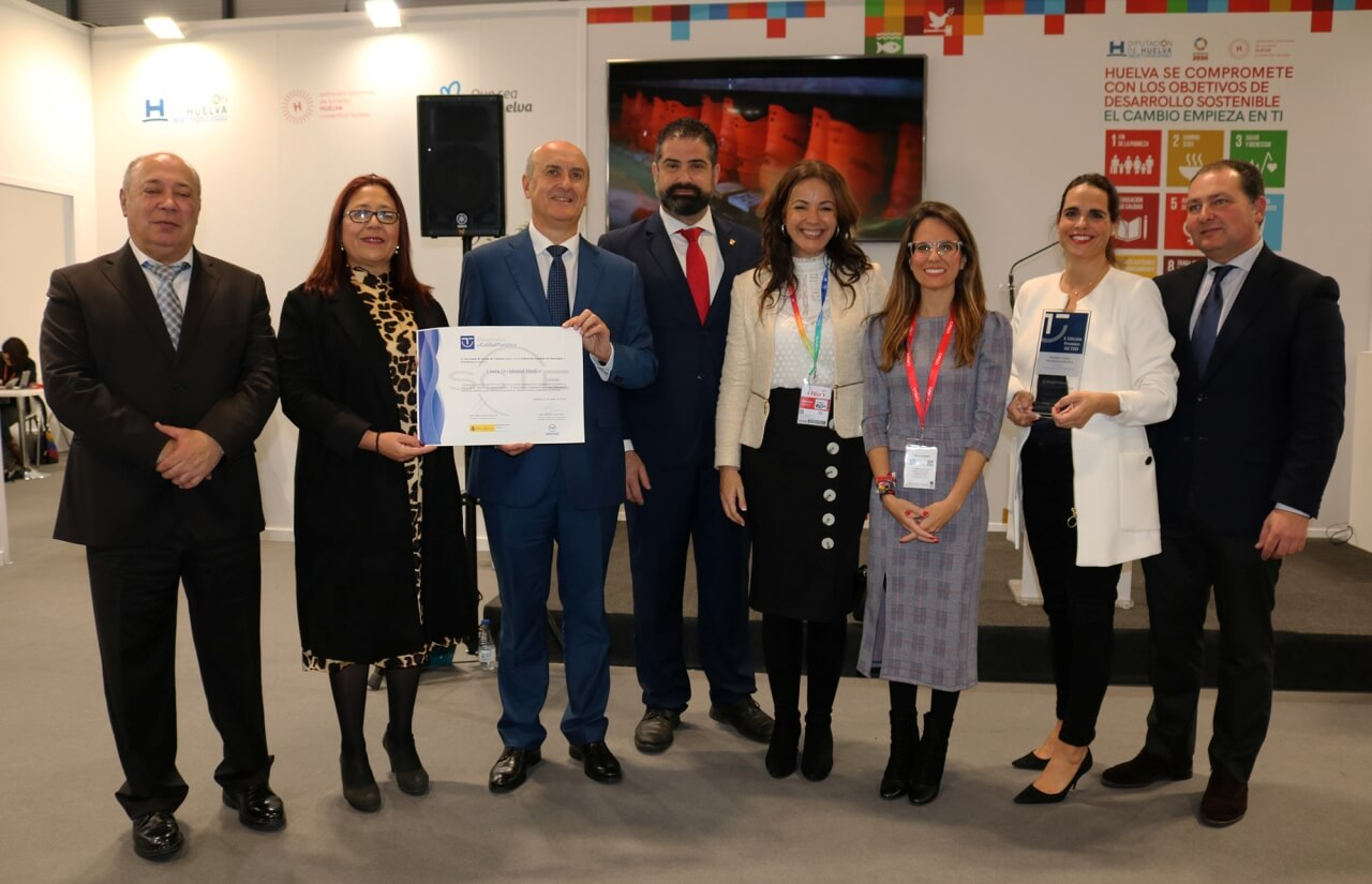 Premio en FITUR a la Calidad Turística para el Consorcio Costa Occidental de Huelva