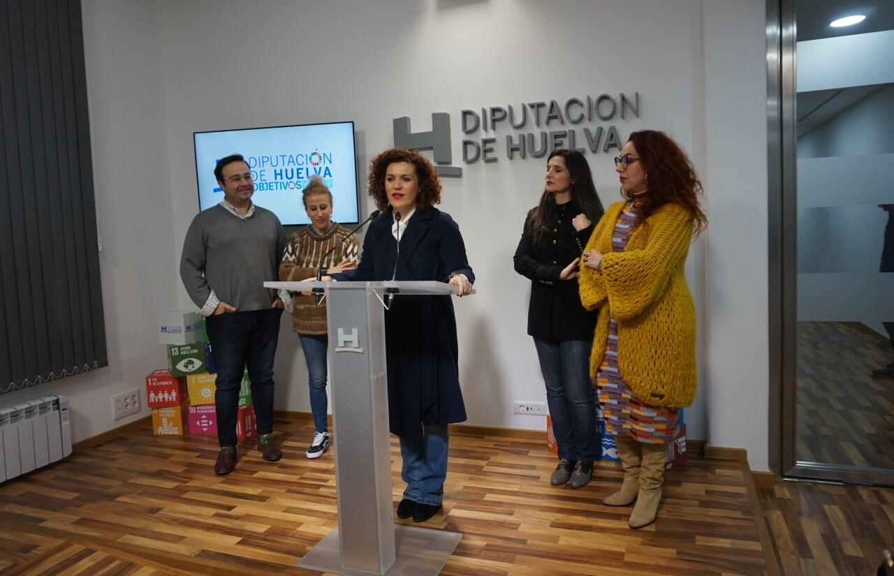 La moda flamenca hecha en Huelva presenta las nuevas tendencias en Simof de la mano de Diputación