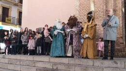 Llegada Reyes Magos Lepe 2
