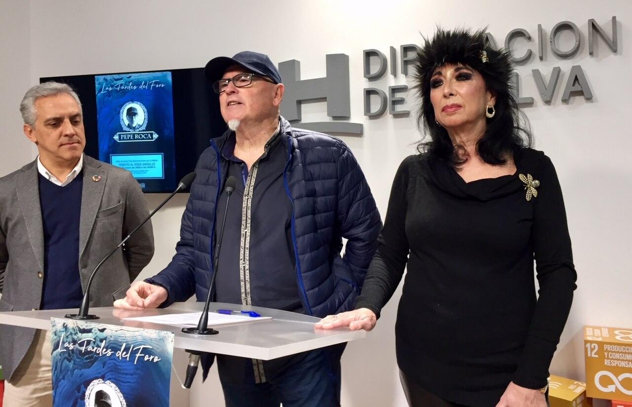 Pepe Roca lleva este viernes su 'Tributo al Rock Andaluz' al ciclo musical 'Las tardes del Foro' de la Diputación