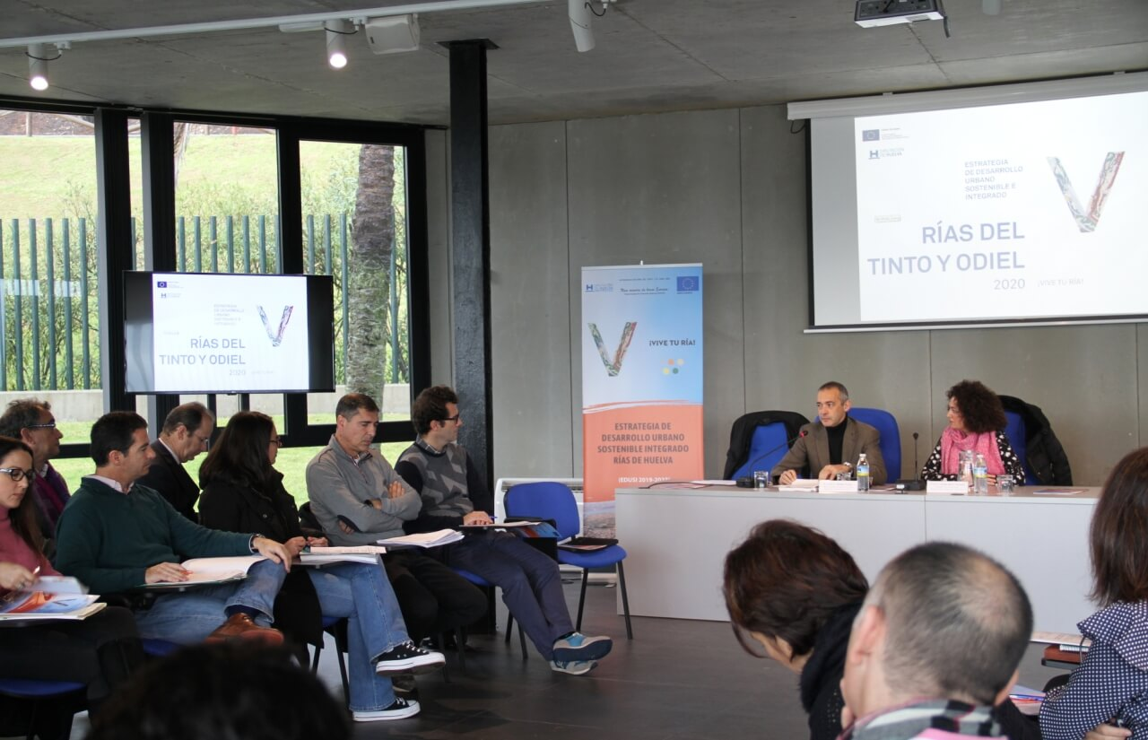 La Estrategia DUSI Rías de Huelva 2020 inicia su andadura con la celebración de una jornada de trabajo en La Rábida