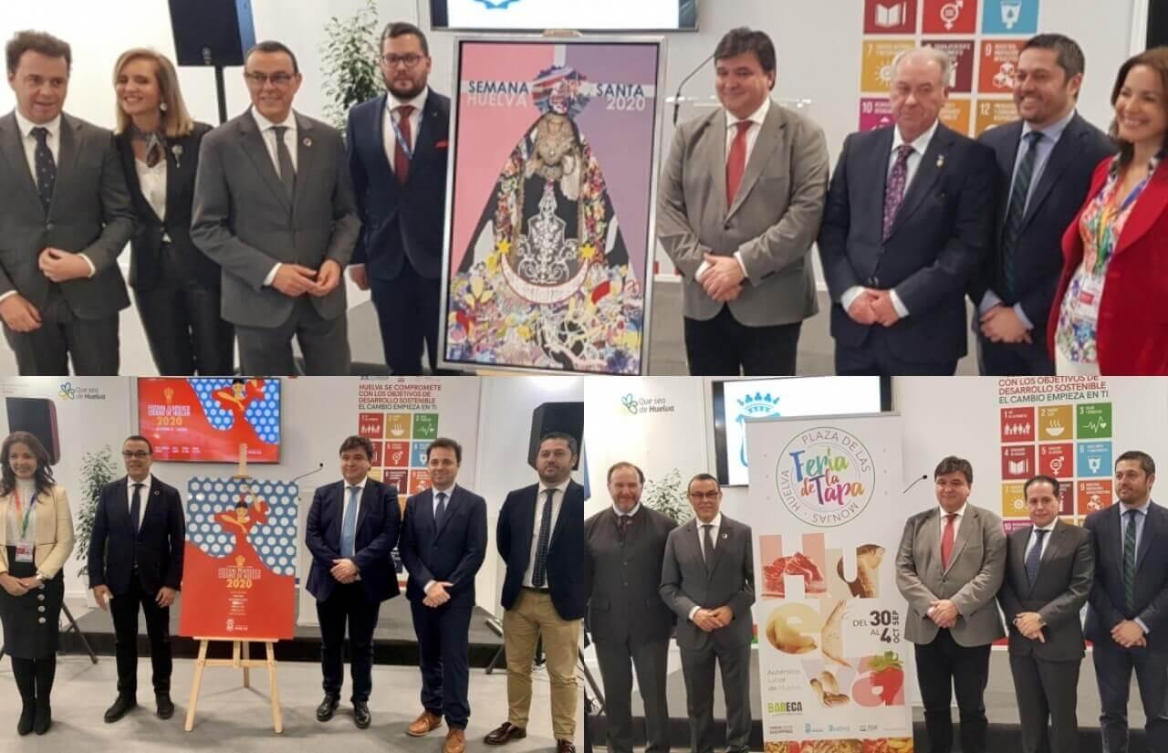 Huelva da a conocer sus propuestas turísticas en FITUR 2020