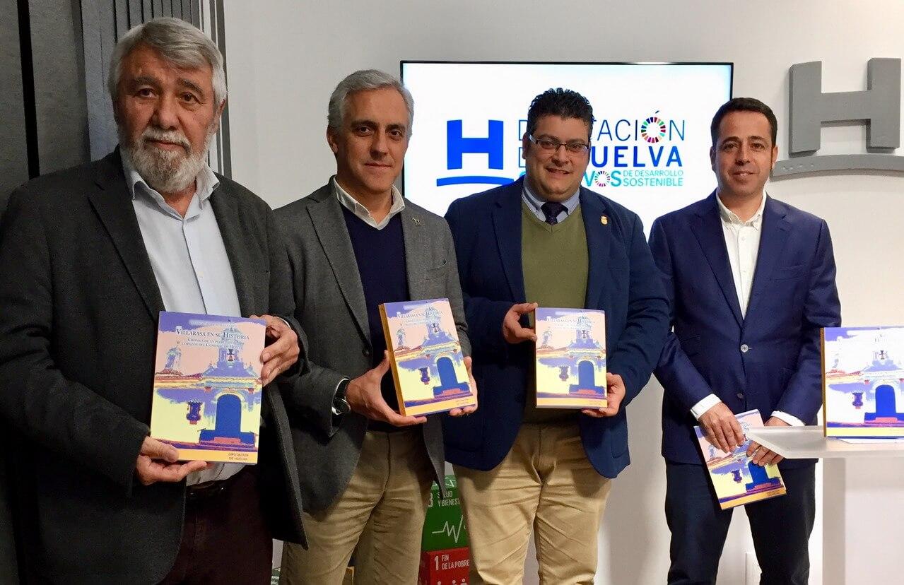 Diputación publica 'Villarrasa en su Historia: crónica de un pueblo en el corazón del Condado de Huelva'
