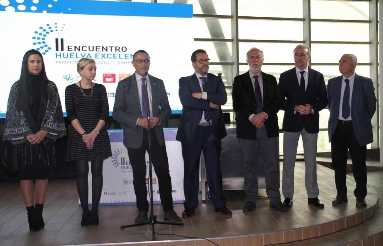 El presidente de la Diputación inaugura el II Encuentro Huelva Excelencia entre productores locales y compradores