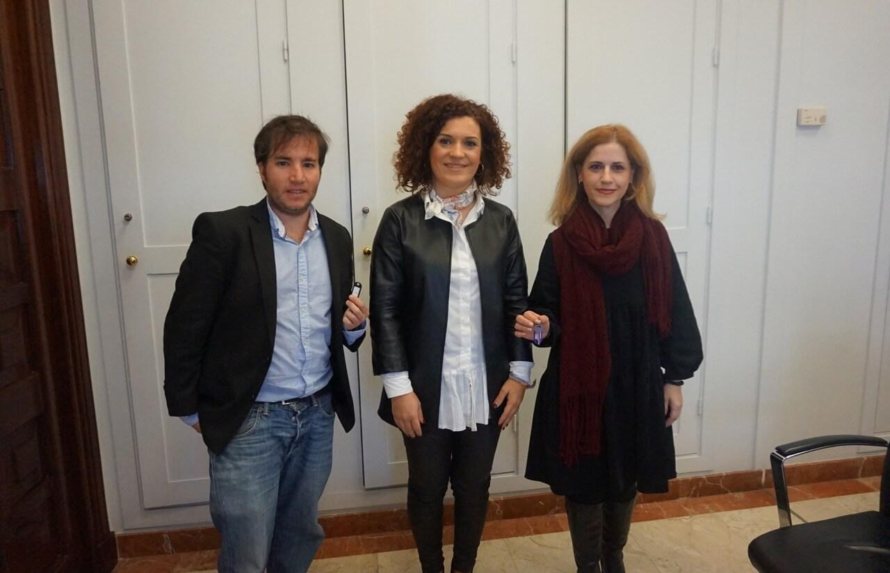 Dos nuevos emprendedores se incorporan al Vivero Provincial de Empresas de la Diputación de Huelva