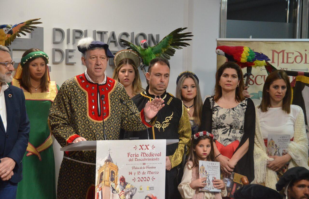 Palos de la Frontera celebra su XX Feria Medieval del Descubrimiento