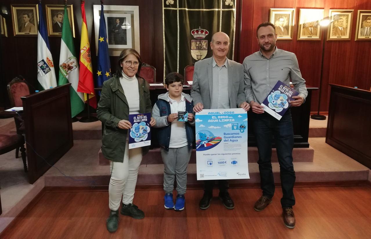 Aqualia hace entrega del premio del XVII Concurso Digital de Dibujo Infantil
