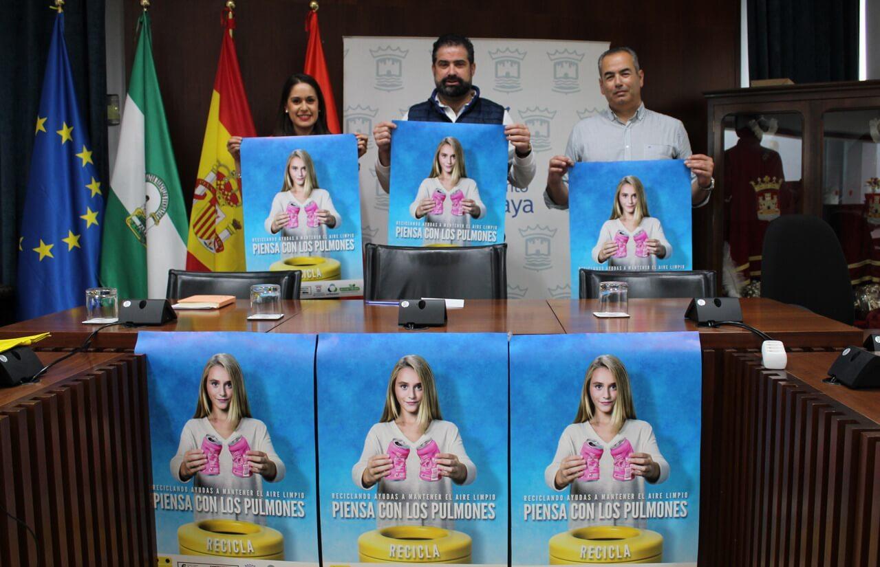 Cartaya pone en marcha una campaña de reciclaje e implica a todos los colectivos
