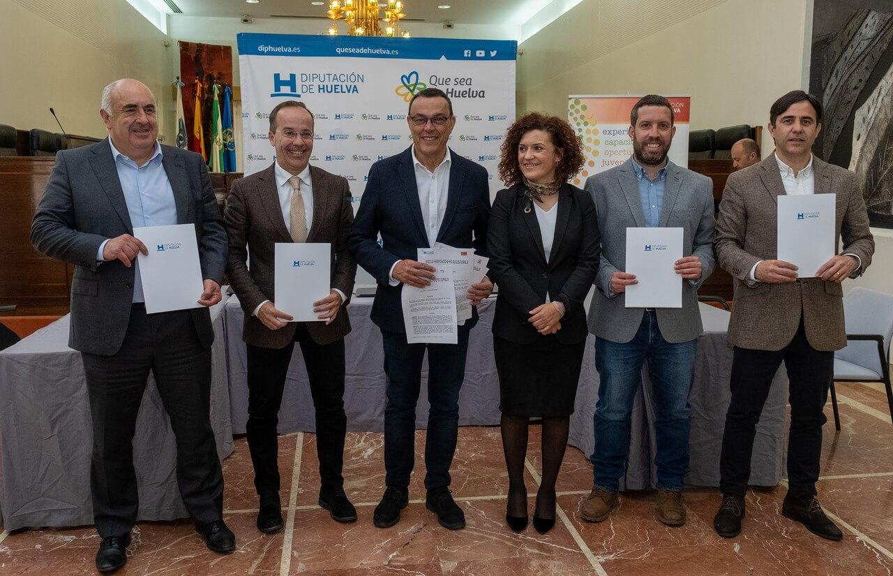 Diputación y GDR provinciales suscriben el convenio para iniciar la 6ª edición de las becas HEBE Primera Oportunidad