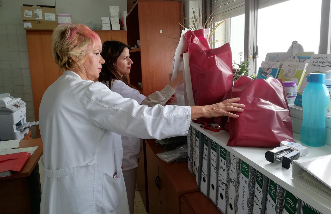 Infanta Elena y los Distritos Sanitarios implantan un circuito para acercar los fármacos hospitalarios a los Centros de Salud