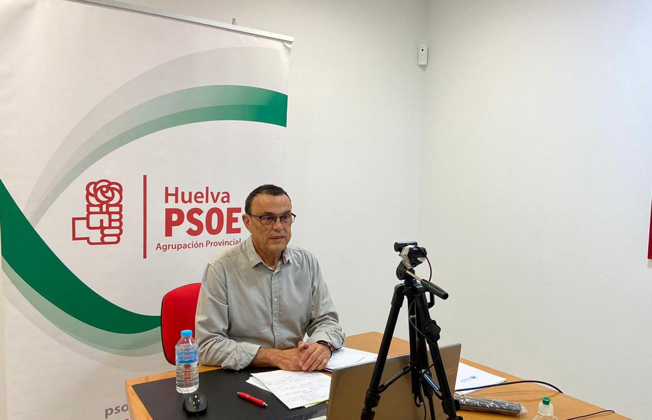 Caraballo anuncia a la Ejecutiva su disposición a continuar al frente del partido ante la situación excepcional por Covid-19