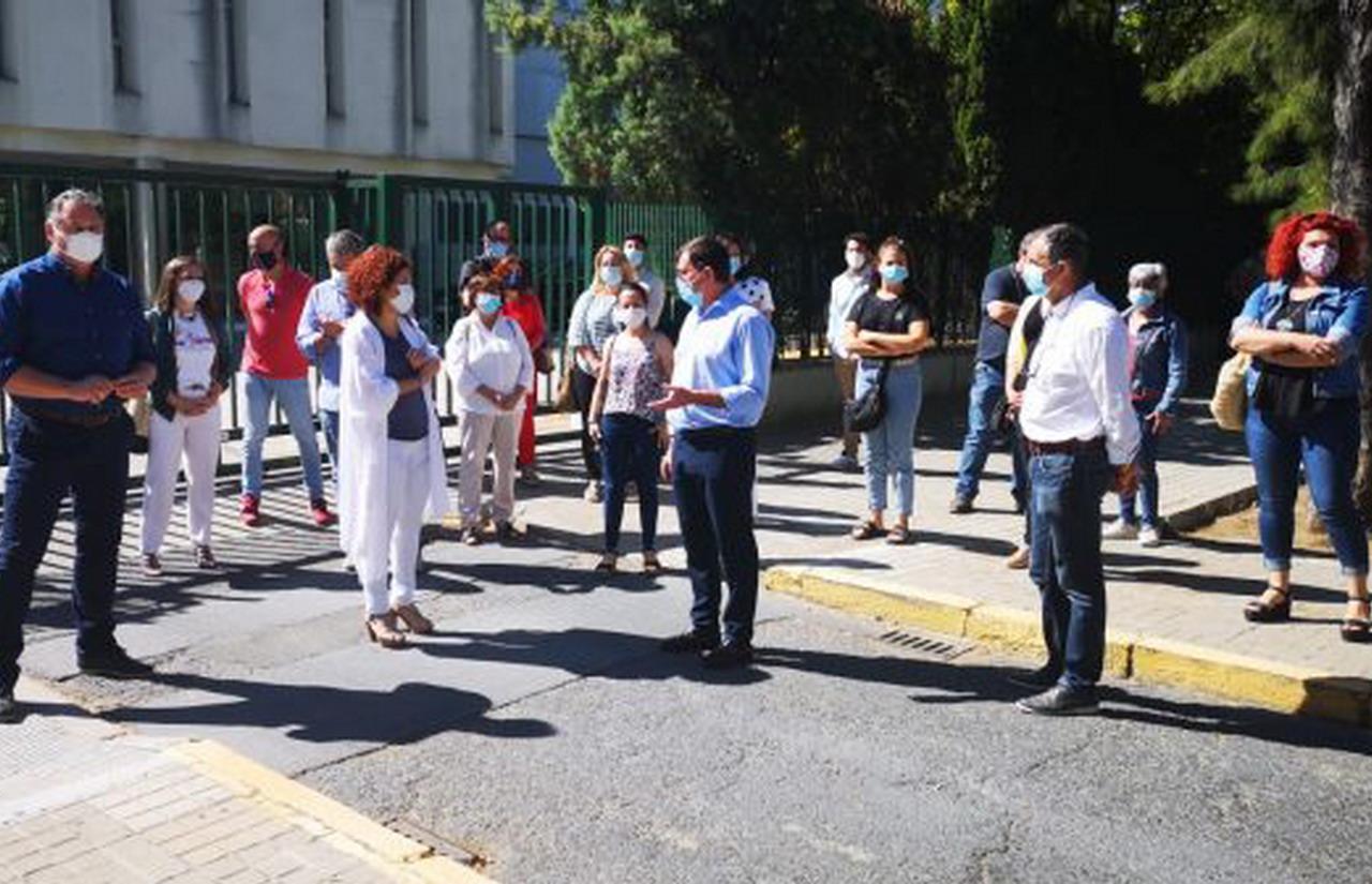 El PSOE pide a la Junta «un refuerzo» a la atención primaria y «no recortes» en centros de salud