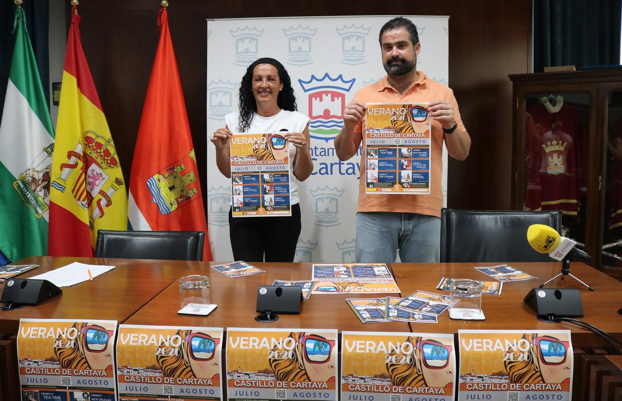 El Castillo, escenario de la programación cultural del Ayuntamiento de Cartaya para el verano