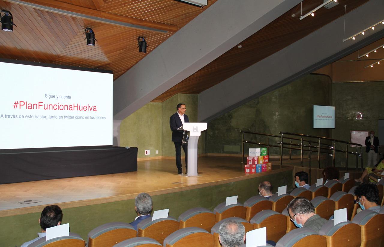 Diputación destina 25 millones de euros para contribuir a la recuperación socioeconómica con el Plan 'Funciona Huelva'