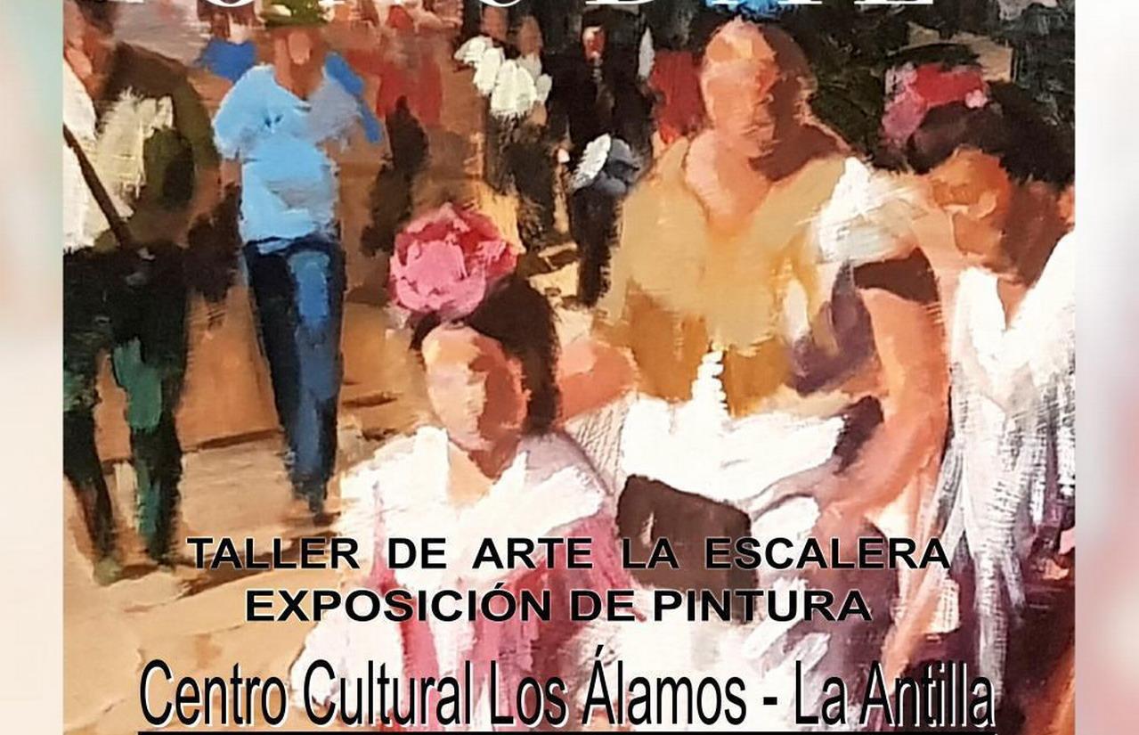 El Taller de Arte «La Escalera» expone su colección «Finibus Onubae» en el Centro Cultural «Los Álamos» de La Antilla