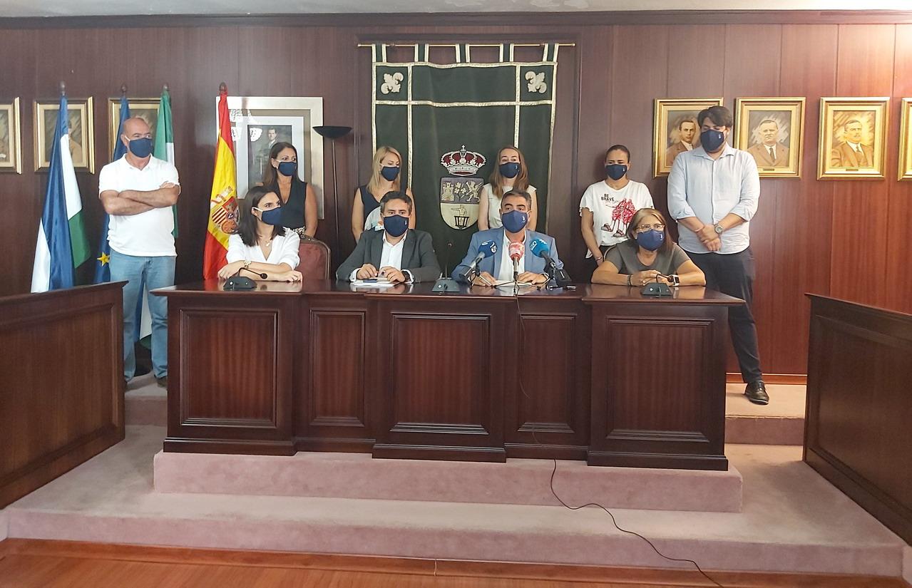El Ayuntamiento de Lepe pone a disposición de la Subdelegación del Gobierno una parcela en el Polígono Industrial La Gravera para la instalación del campamento de emergencia por parte del Ejército